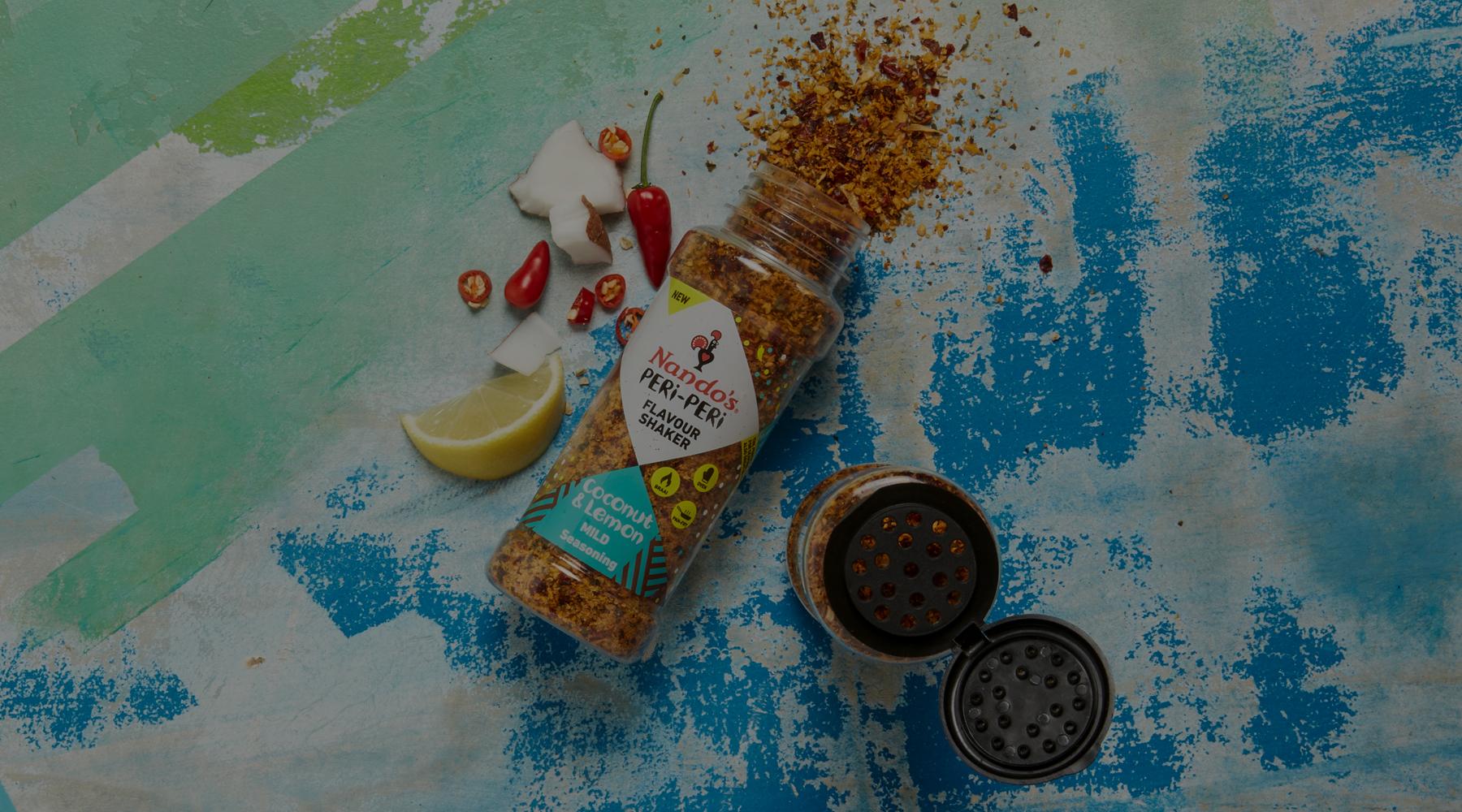 Flavour Shaker Coconut & Lemon Seasoning