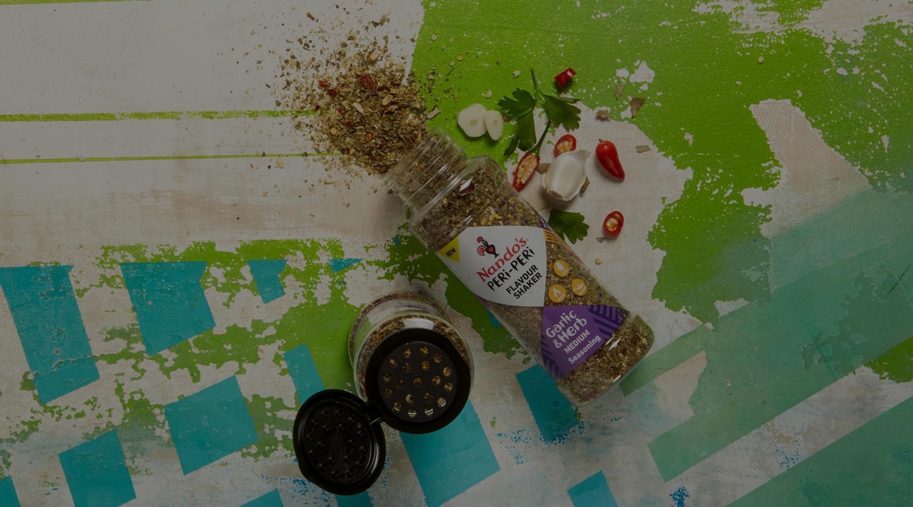 Flavour Shaker Garlic & Herb Seasoning