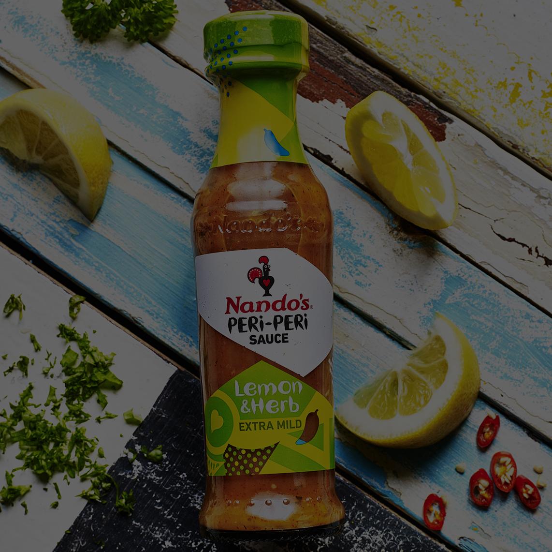 Lemon and Herb PERi-PERi Sauce